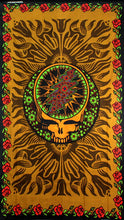 Skull And Rose Décor Tapestry
