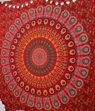 Globus Choice Inc Queen Indian Traditional Hippie Cotton Beach Coverlet Curtain Bohemian Wall Hanging Tapestry