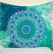 Floral Ethnic Pattern Mandala Tapestry