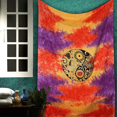 Ethnic Indian Mandala Tapestry