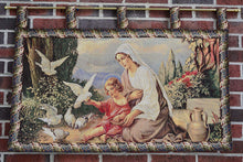 Mother And Child Décor Tapestry