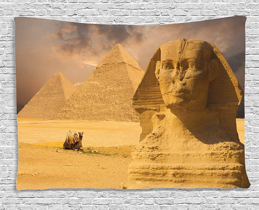 Egyptian Sphinx Décor Tapestry