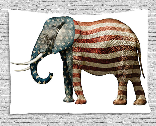 US Elephant Wall Décor