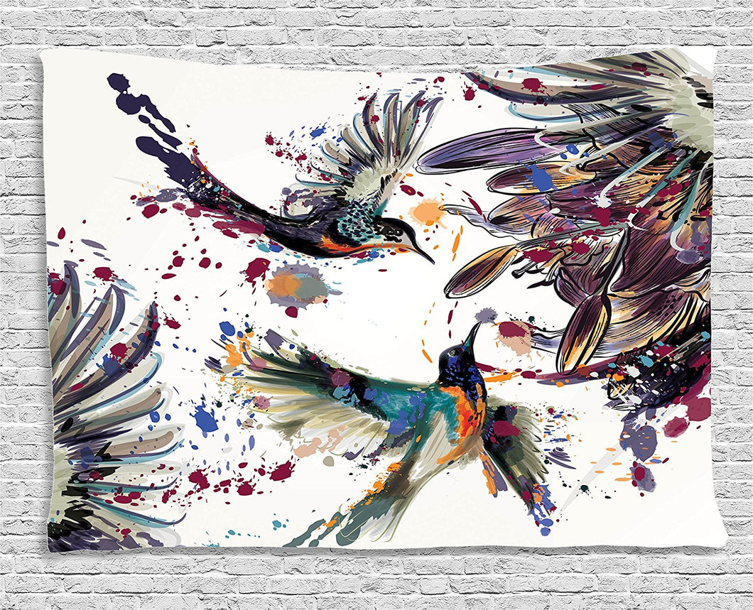 Beautiful Hummingbirds Tapestry