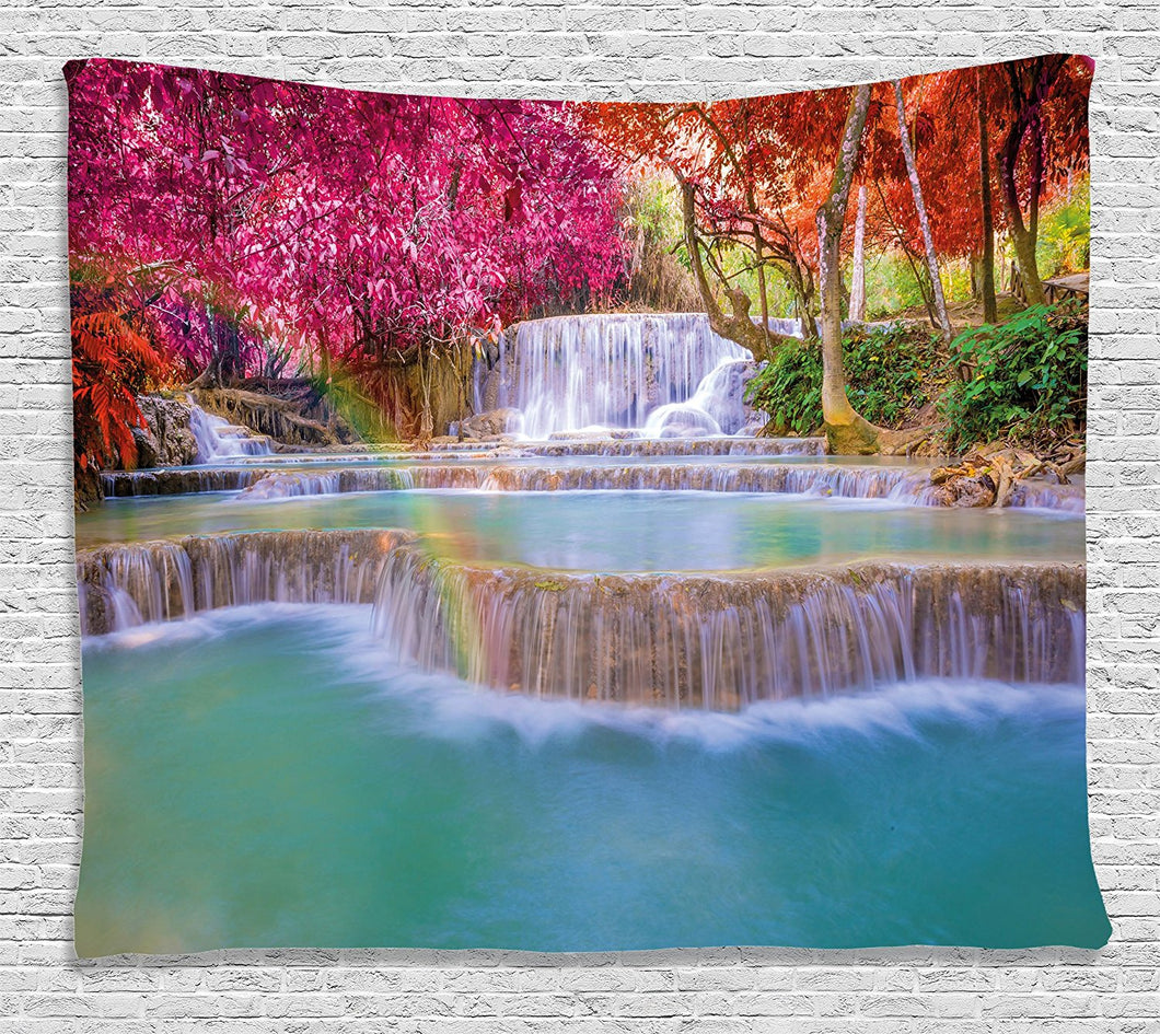 Stunning Rain forest Decor Tapestry