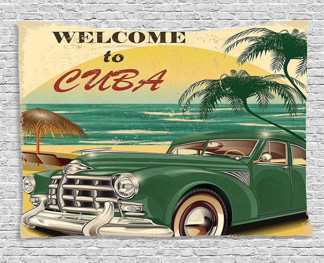 Cuba Holiday Décor Tapestry
