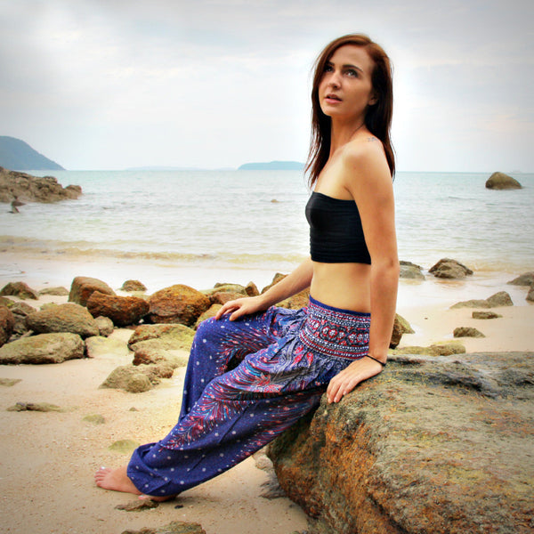 All Season Loose Mandala Thai Yoga Pants