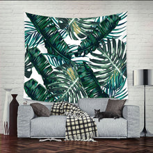 Graphic Beach-View Hanging Tapestry