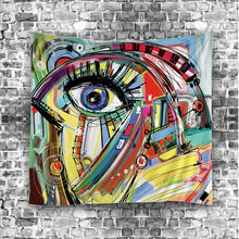 Ecstasic Abstract Multicolour Art Tapestry