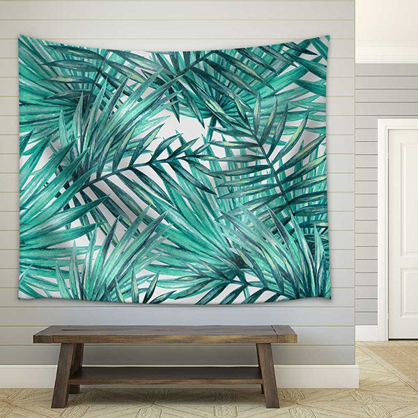 Exotic Palm Trees Tapestry