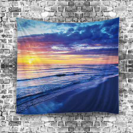 Blues Scenic Artwork Hanging Tapestry