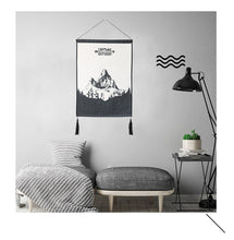 Black And White Artwork Hanging Tapestry