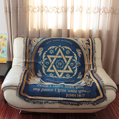 The Israeli Flag Tapestry