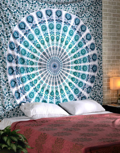 Rhapsody Hippy Mandala Tapestry and Wall Hanging