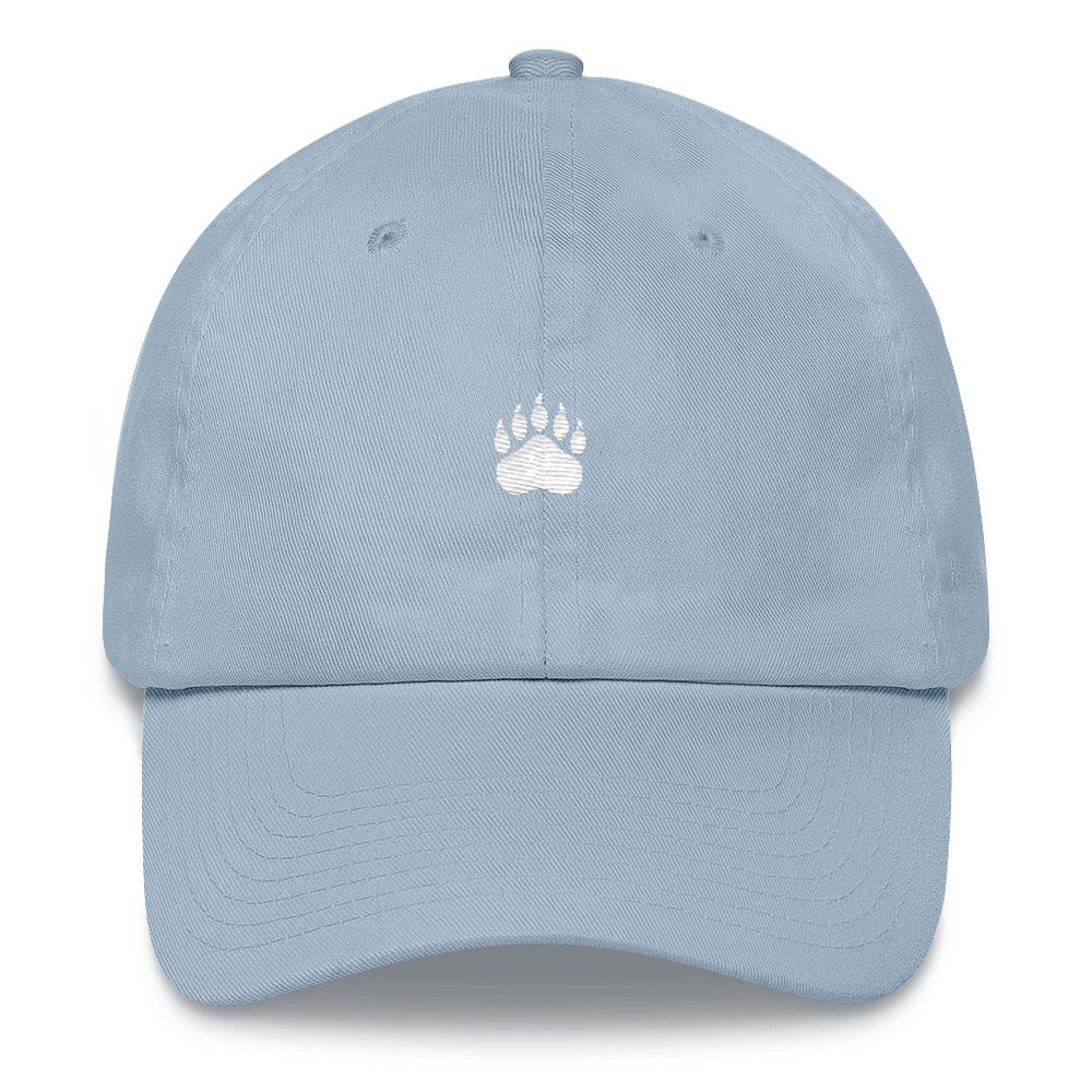 """Paws Off"" Dad Hat - White thread"