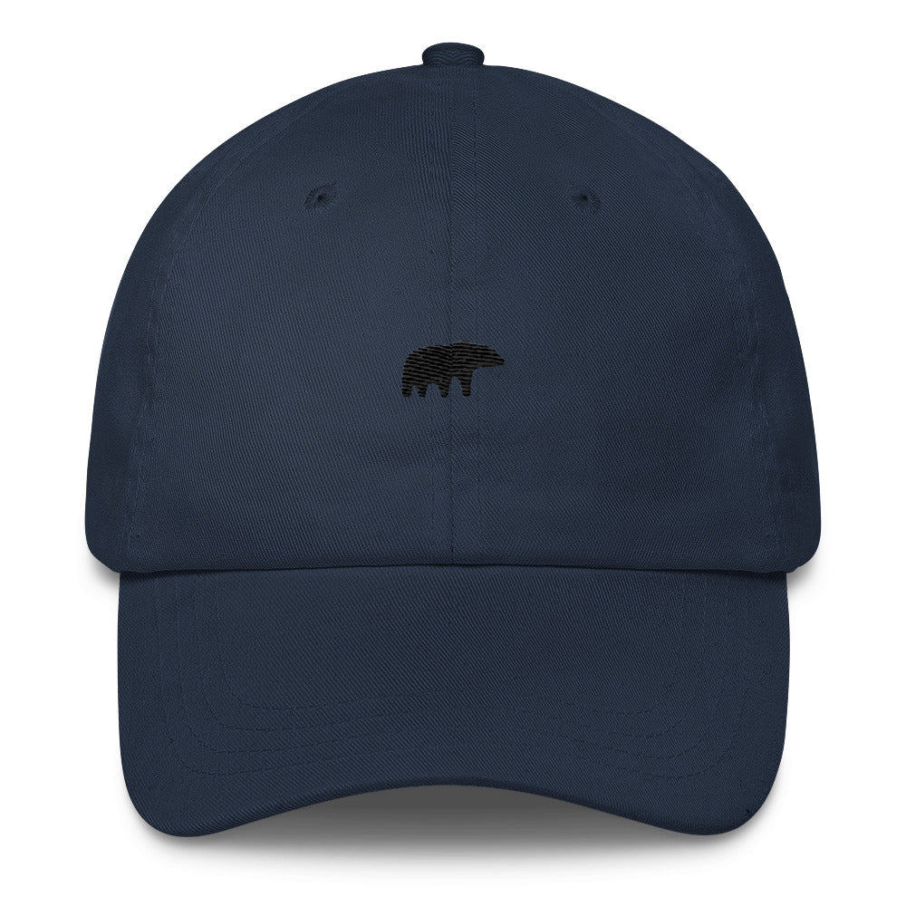 """The Bear"" Dad Hat - Black thread"