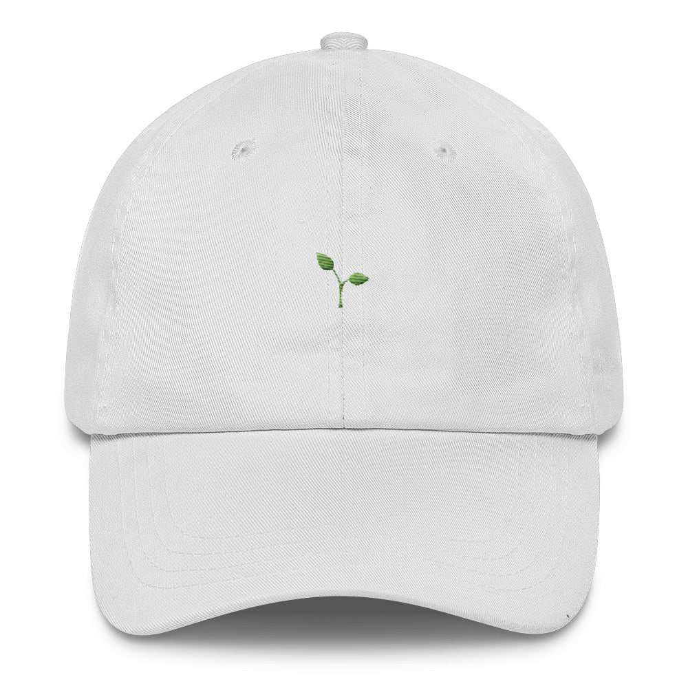 """Seedling"" Dad Hat - Green thread"