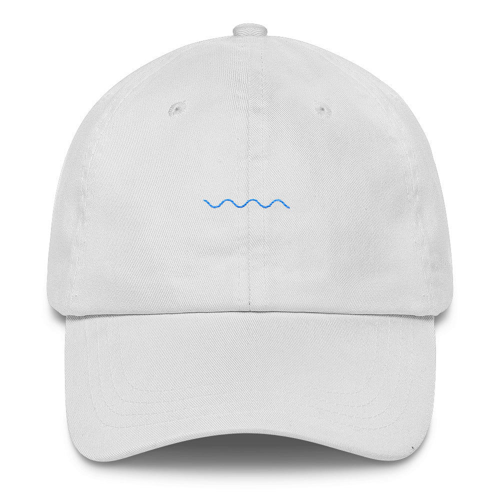 """The Ripple"" Dad Hat - Blue thread"
