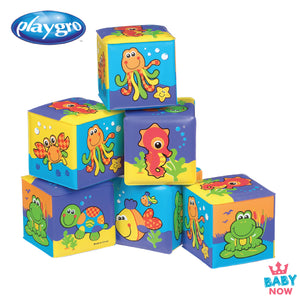 [PG0181170] Playgro MF Soft Blocks (6m+)