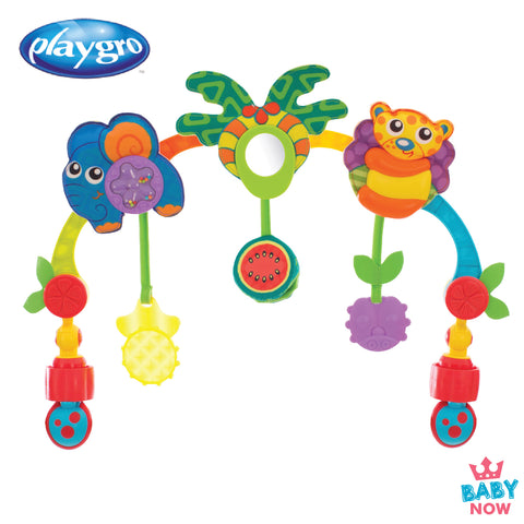 [PG0184473] Playgro Tropical Tunes Travel Play Arch