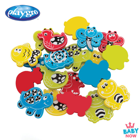 [PG0184956] Playgro Animal Friends Bath Shapes 3yrs+ (20PCS/PK)