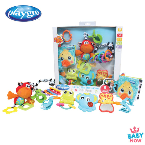 [PG0185430 ] Playgro Music on The Move Gift Pack (4PCS)