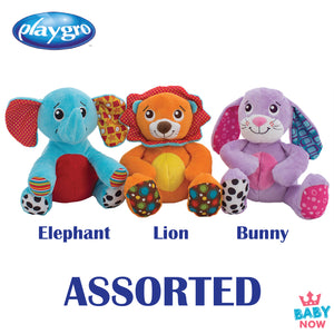 [PG0185442] Playgro Musical Tummy Buddy - 3 Assort