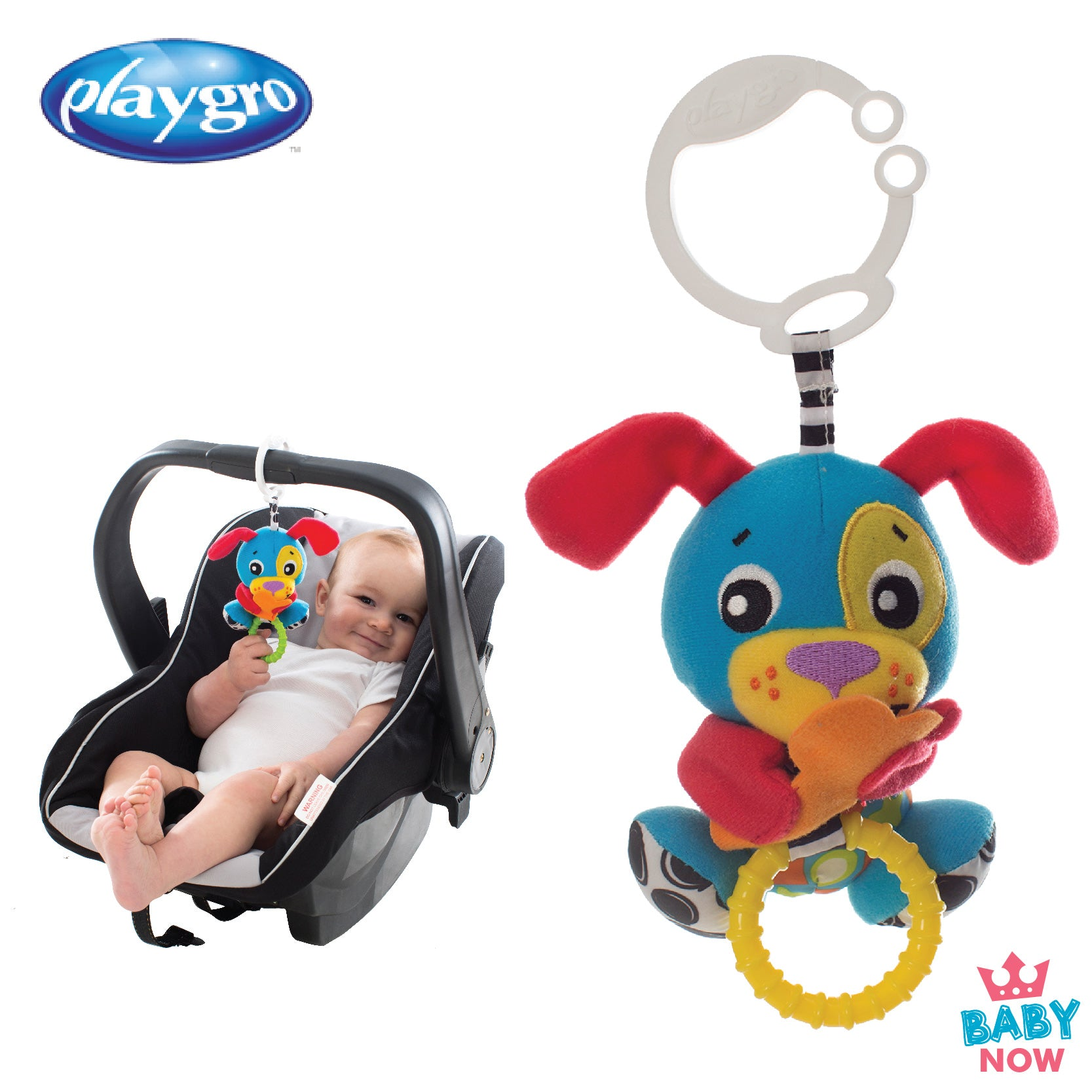 PG0185471 Playgro Peek-A-Boo Wiggling Puppy