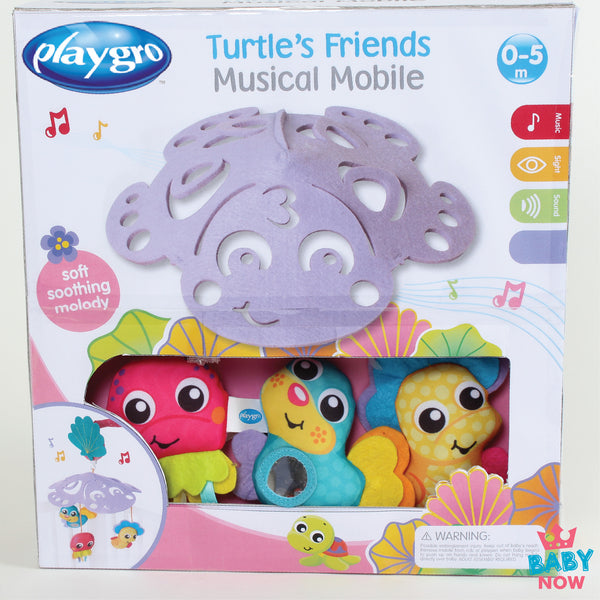 [PG0185481] Playgro Turtle's Friends Musical Mobile