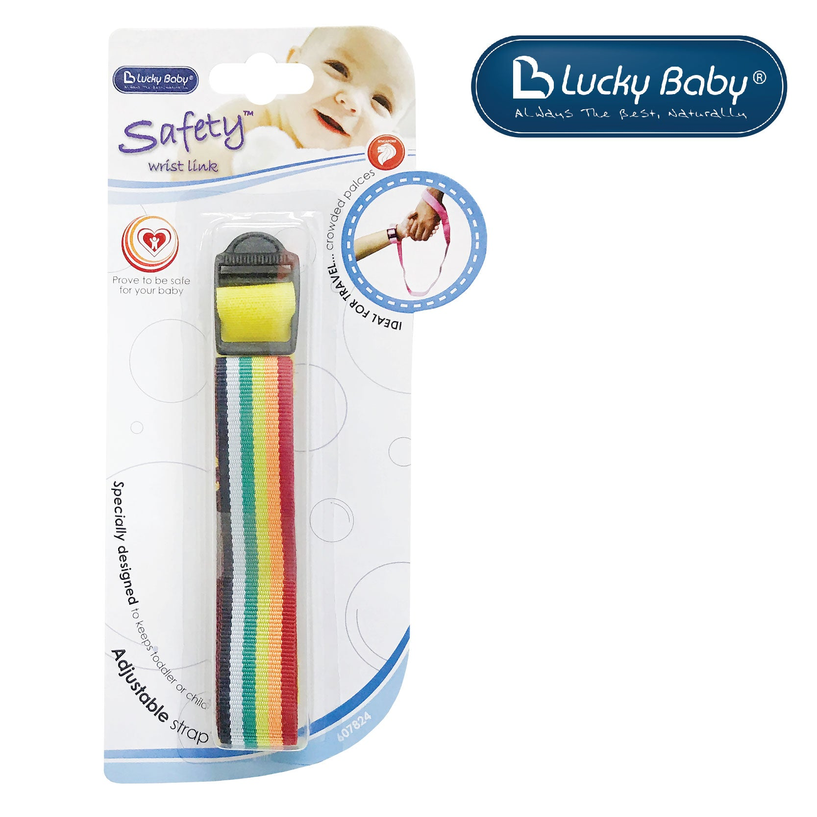 [607824] Lucky Baby Safety Wrist Link (1 Color)