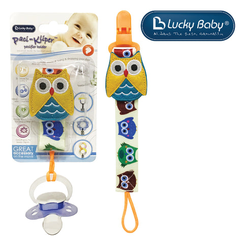[603536] Lucky Baby Klipz-On™ Adjustable Strap _ Owl