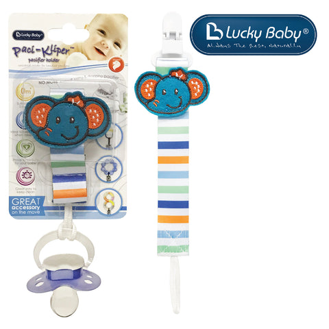 [603529] Lucky Baby Klipz-On™ Adjustable Strap _ Elephant