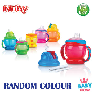NB10020 NUBY FLIP AND SIP COMBO 8oz (Random Colour)