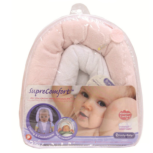 [146507P] Supre Comfort As You Grow Head Snuggler-Pink