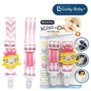 [603499] Lucky Baby Klipz-On™ Adjustable Strap _ Princess