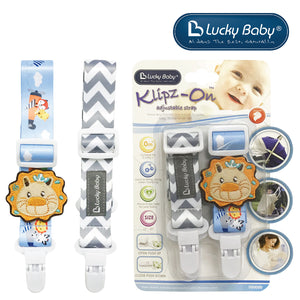 [603512] Lucky Baby Klipz-On™ Adjustable Strap _ Lion