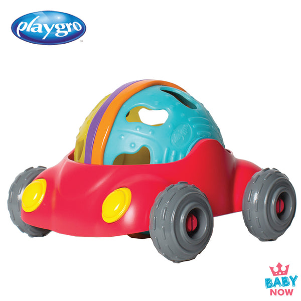PG4085486 Playgro Junyju - Rattle & Roll Car