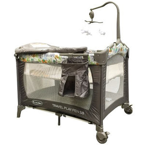 "[500415] S8 Travel Playpen Elephant : 40""28""32"" or 101X72X82cm"
