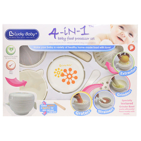 [521168] 4-In-1 Baby Food Processor Set (ASSORTED)