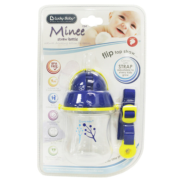 [521243] Minee™ Straw Bottle 140 ML (ASSORTED)