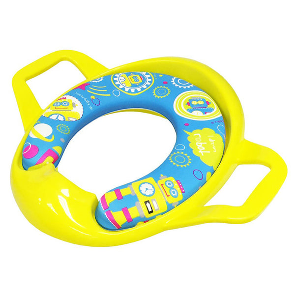 [530238] Spongy Plus Deluxe Potty Seat With Big Handle (ASSORTED)