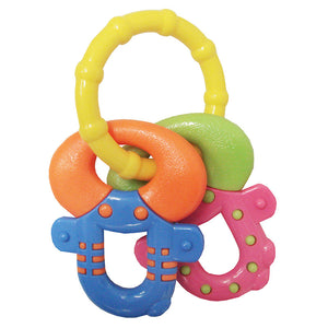 [606629] Tag-Along Funkeys Teether - Soft Bite (ASSORTED)