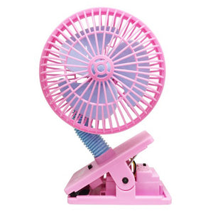 [608883] Multi Safety Fan -PINK W/ultrasonic Mosquito Repellent