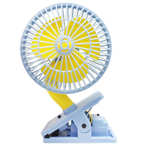 [608890] Multi Safety Fan - BLUE W/ultrasonic Mosquito Repellent
