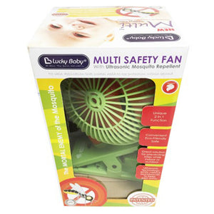 [608906] Multi Safety Fan -GREEN W/ultrasonic Mosquito Repellent