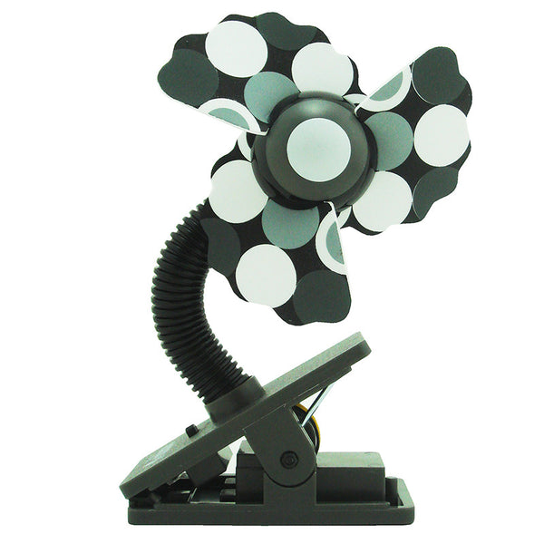 [608913] Safety™ Mini Clip On Fan Pattern Series ( Wavy Blades) - Grey