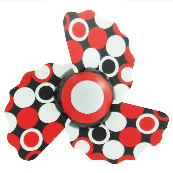[608920] Safety™ Mini Clip On Fan Pattern Series ( Wavy Blades) - Red