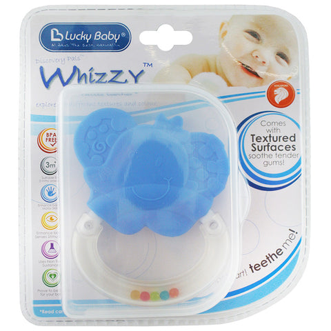 [609569] Whizzy™ Rattle Teether-Ember Elephan