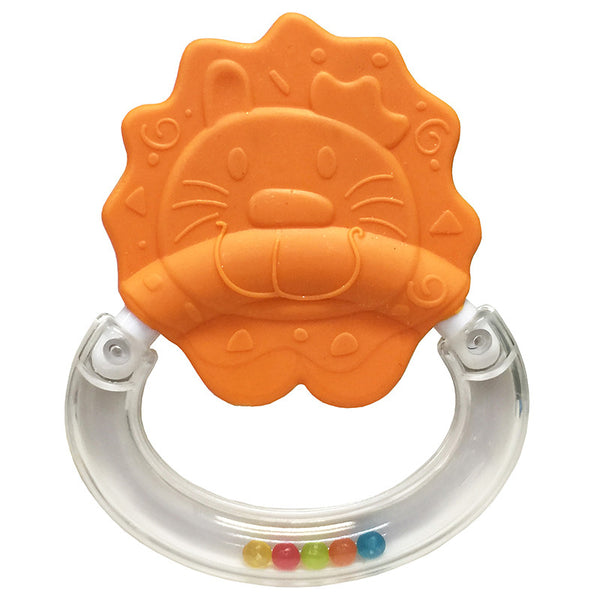 [609576] Whizzy™ Rattle Teether-Logan Lion