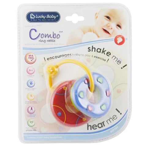 [609989] Combo™ Ring Rattle [ASSORTED]
